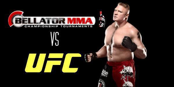 Brock Lesnar, la puja de Bellator MMA y UFC para el 2015 / Twitter