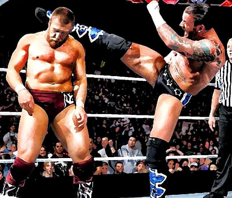 Daniel Bryan vs CM Punk