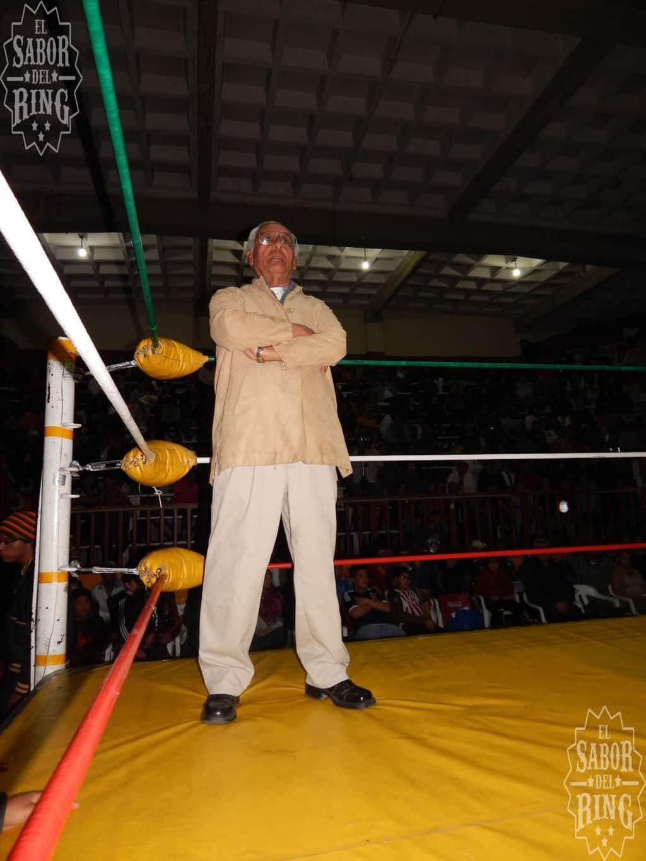 """Antonio Grimaldo """"Tauro"""", homenajeado en La Arena Coliseo de San Luis Potosí // Foto: @ElMemoPacheco"""