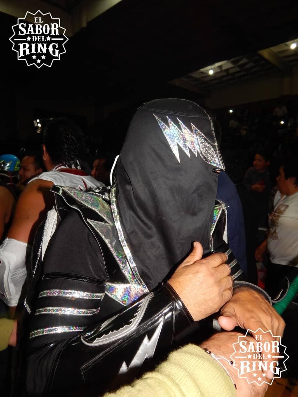 Juan Padrón Luna, El Rayo de Plata, homenajeado en La Arena México de San Luis Potosí // Foto: @ElMemoPacheco
