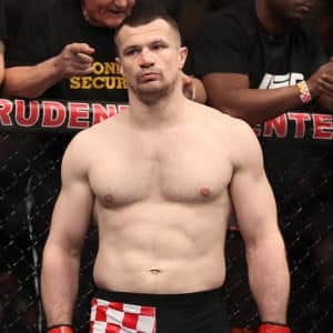 "Mirko ""Cro Cop"" Filipović (UFC 128 vs. Brendan Schaub) / Photo by: Ed Mulholland - Flickr.com"