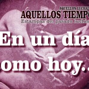 En un día como hoy... 1986: En el Palacio de los Deportes, El Fantasma destapa a El Dorado... En El Toreo, pierde la máscara el futuro Savio Vega 18