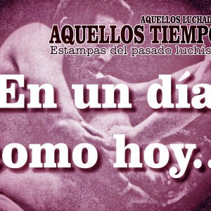 En un día como hoy... 1965: Huracán Ramírez vs. El Nazi en Bolivia... 1975: Santo y Ricki Starr cara a cara 9