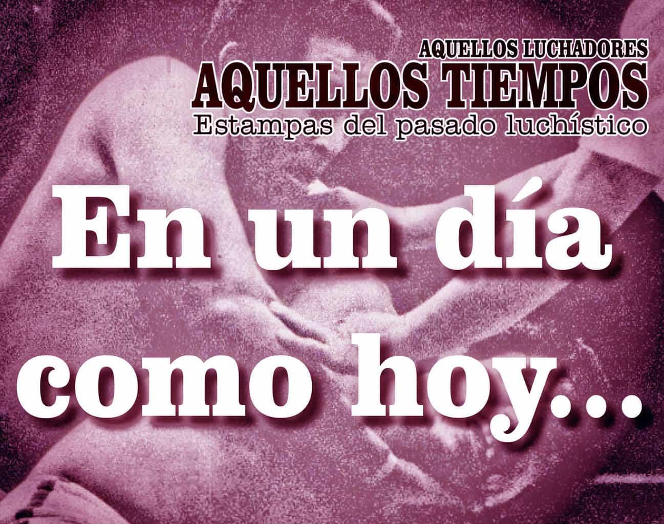 En un día como hoy... 1986: En el Palacio de los Deportes, El Fantasma destapa a El Dorado... En El Toreo, pierde la máscara el futuro Savio Vega 1