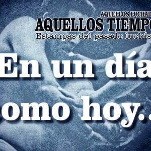 En un día como hoy... 1981: Promociones Mora llega a la Arena México, Los Misioneros, pelones... Black Shadow se despide de Pantitlán 8