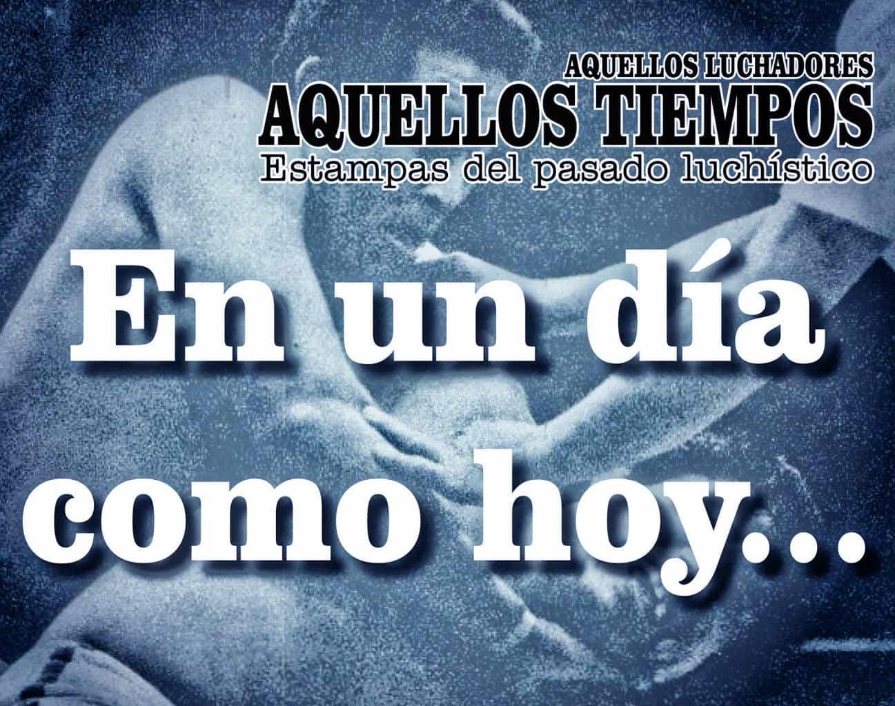 En un día como hoy... 1981: Promociones Mora llega a la Arena México, Los Misioneros, pelones... Black Shadow se despide de Pantitlán 1