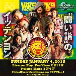 """NJPW: Cartel completo para """"Wrestle Kingdom 9"""" - 04/01/2015 - 6 Títulos en juego 15"""