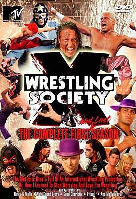 Portada del DVD de la primera y última temporada de WSX