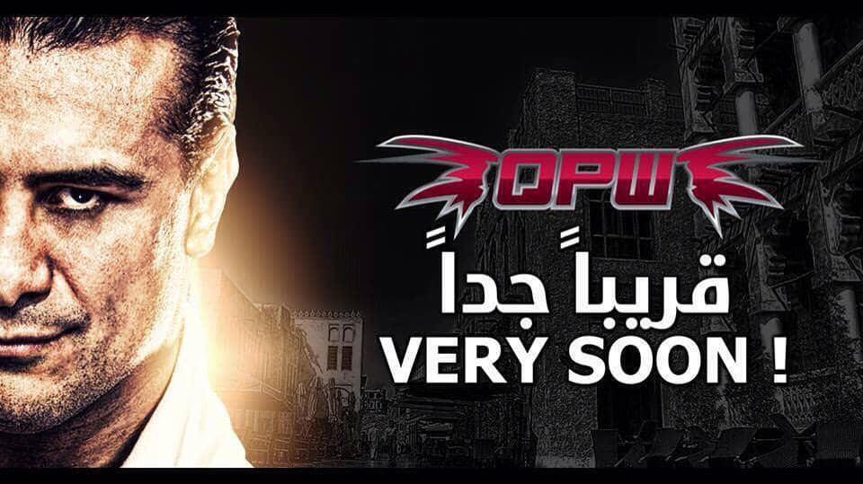 El Patrón Alberto en Qatar Pro Wrestling 1