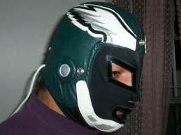 Máscara de los Philadelphia Eagles