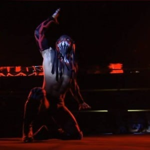 Finn Bálor en NXT Takeover: R Evolution - Captura de pantalla