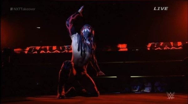Finn Bálor en NXT Takeover: R Evolution - Captura de pantalla