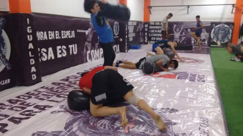 Daga entrenando en el WFC. Foto Facebook.