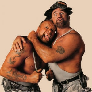 The Bushwhackers al Salón de la Fama WWE 8