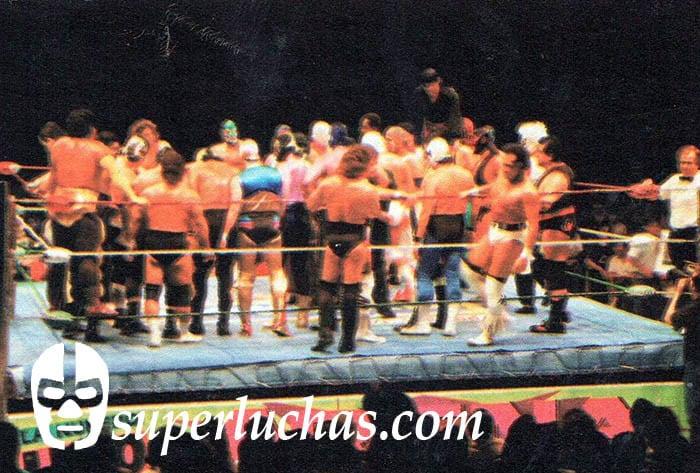 Los aspirantes al Campeonato Mundial de Parejas CMLL
