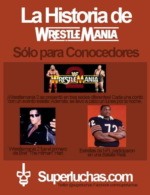 Datos de Wrestlemania 2