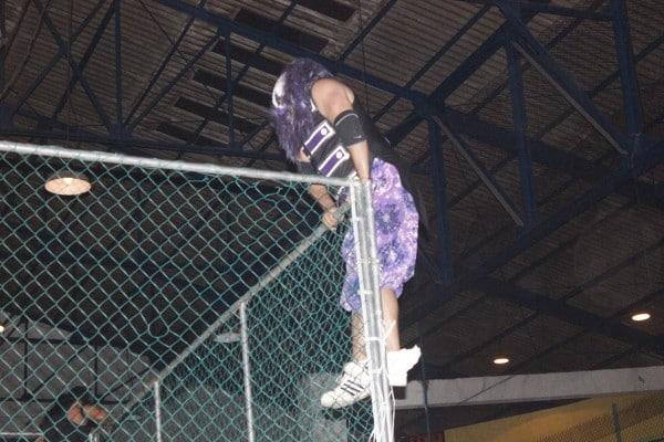 Dave the Clown impactó en la afición de Xalapa.