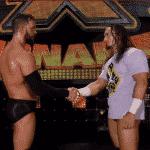 Finn Bálor y Adrian Neville en WWE NXT - Captura de pantalla