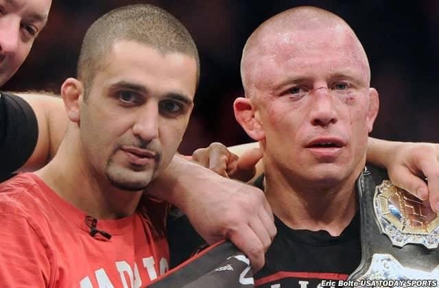 Firas Zahabi explica lo que hará falta para que Georges St-Pierre vuelva a pelear 1