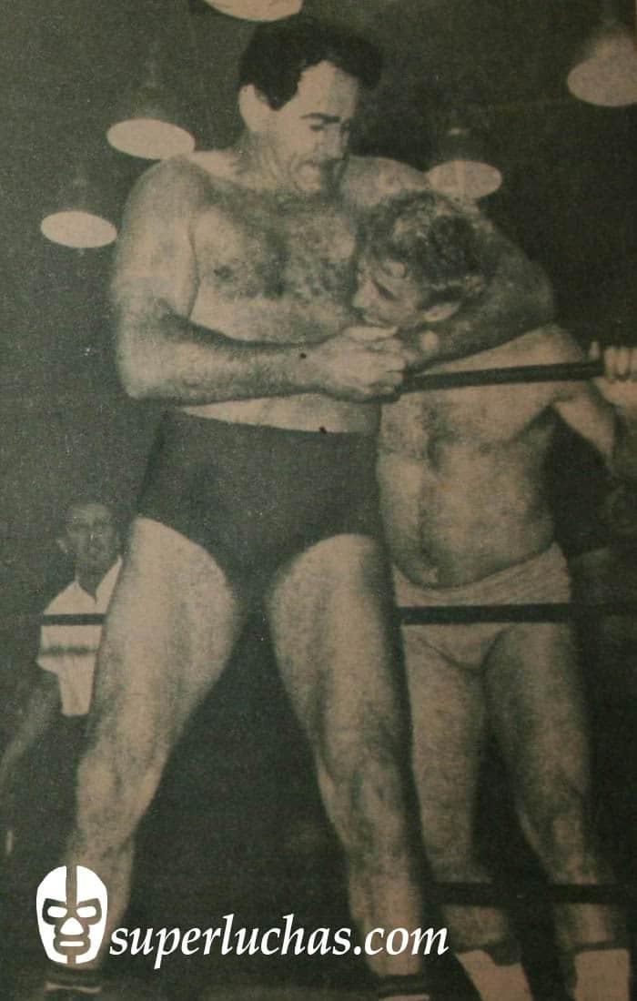 Lou Thesz vs. Benny Galant