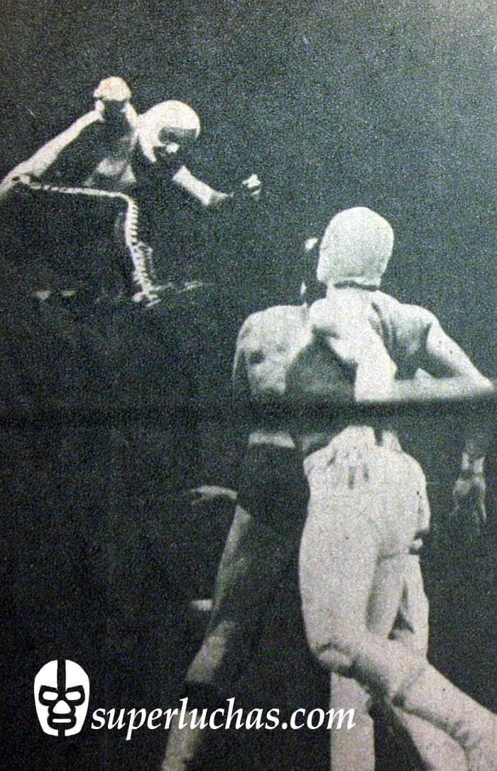 As Charro, Enrique Vera y Demonio Blanco