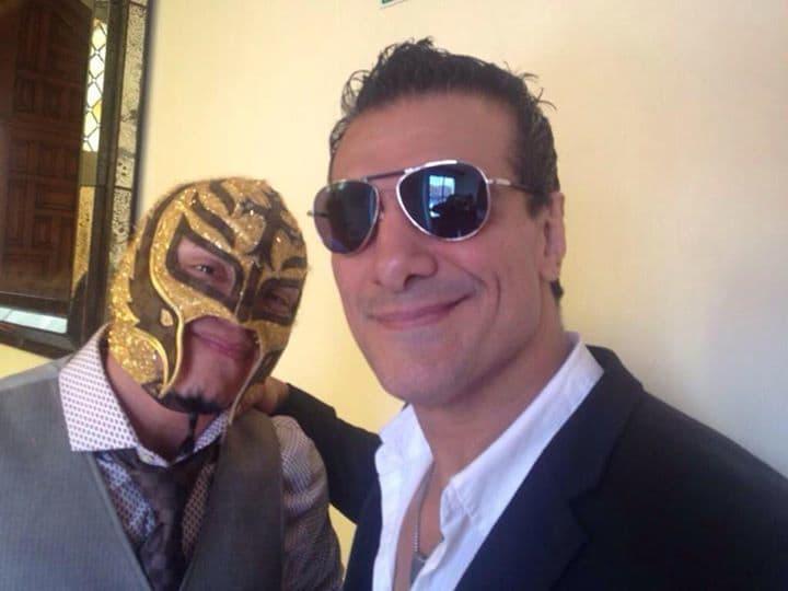Rey Mysterio y El Patrón Alberto - Image by Lucha Libre AAA