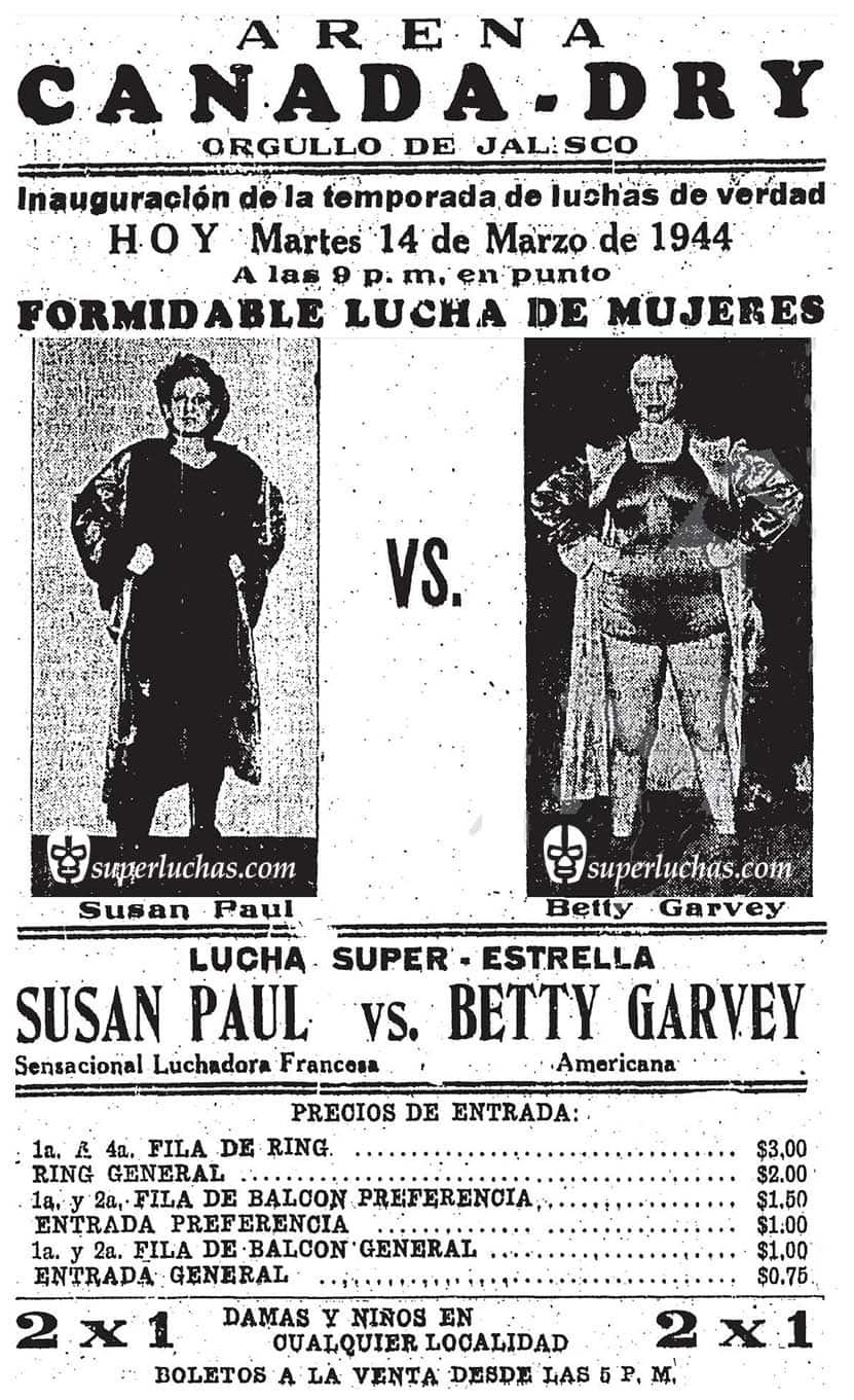 Susan Paul vs. Betty Mae Garvey