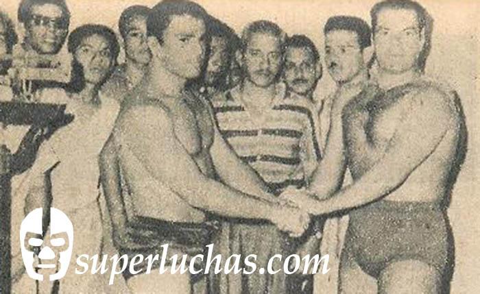 Rubén Juárez y Tomás Riande
