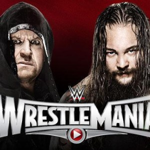 Bray Wyatt vs Undertaker - Cartel de Wrestlemania 31