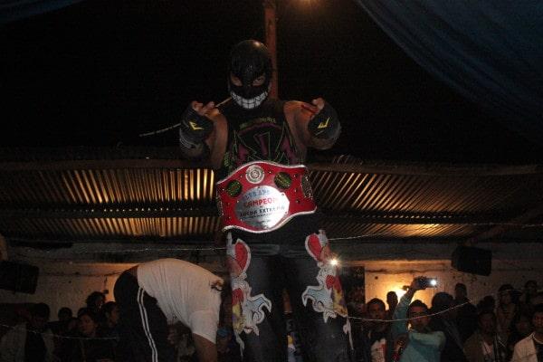 Toxin Boy nuevo campeón.
