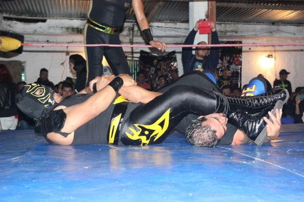 Rey Pantera vs Mike Suicida.
