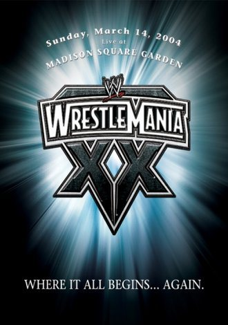 Poster de Wrestlemania XX