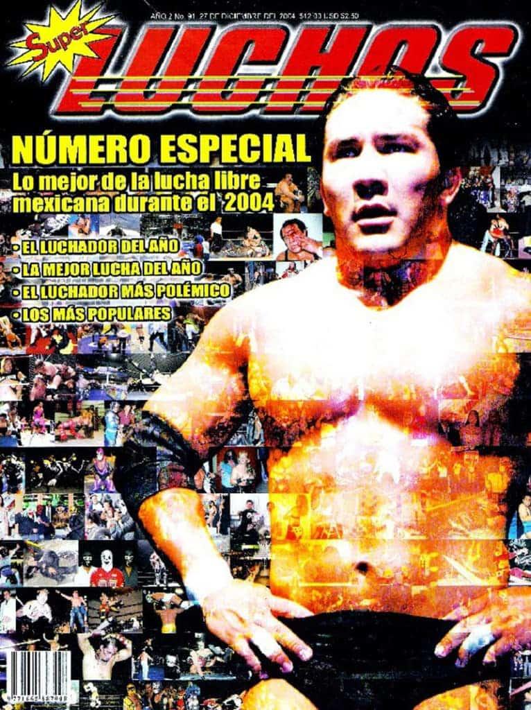 Súper Luchas #91 Hijo del Perro Aguayo
