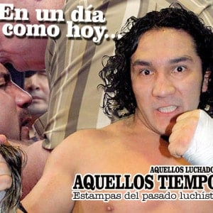 En un día como hoy... 2008: Hijo del Perro Aguayo rapó a Héctor Garza. Hoy ambos se han reunido en la Arena Celestial 4