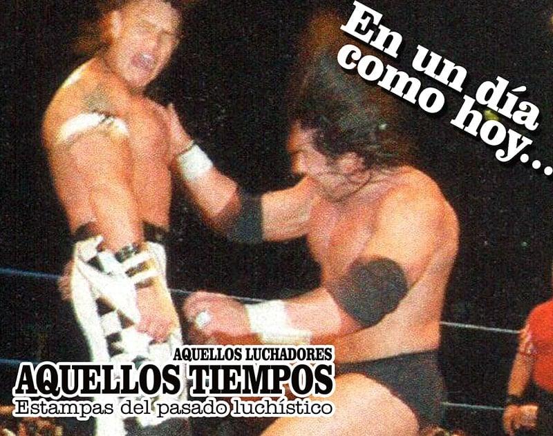 En un día como hoy... 2005: Heavy Metal regresa al CMLL contra Hijo del Perro Aguayo... 2007: Tiffany, Reina de Reinas AAA 1