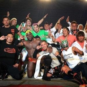 """Dragon Gate: Resultados """"Champion Gate 2015 in Osaka"""" - 01/03/2015 - BxB Hulk retiene su campeonato y Uhaa Nation se despide de la empresa 4"""