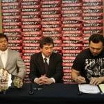 """W-1: Firma de contratos para """"Cherry Blossom 2015"""" - 01/04/2015 2"""