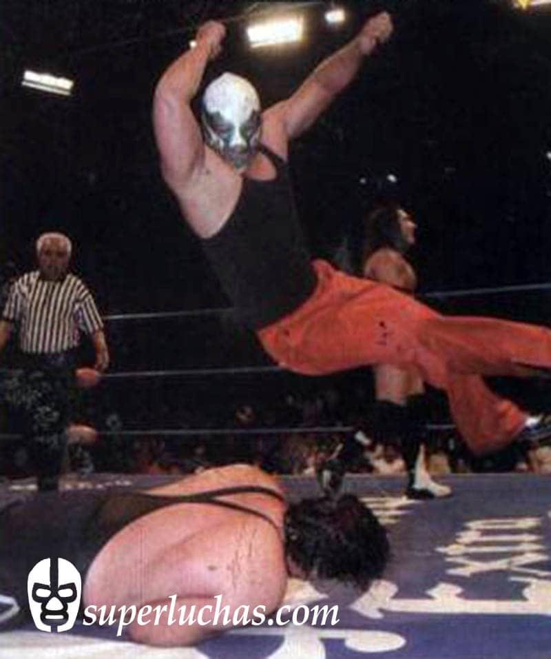 Canek Jr.vs. Universo 2000