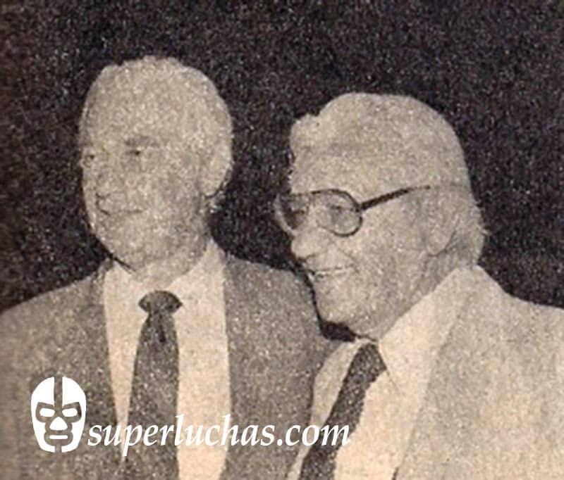 Wolf Ruvinskis y Enrique Llanes