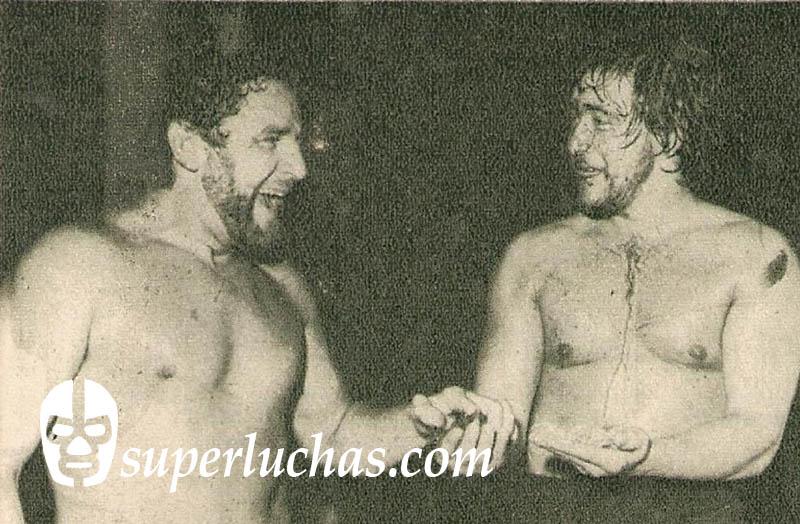El Vikingo y Renato Torres