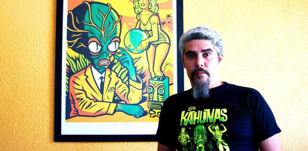 Entrevista con el ilustrador Jorge Alderete, creador del nuevo logo de Superluchas.com 2