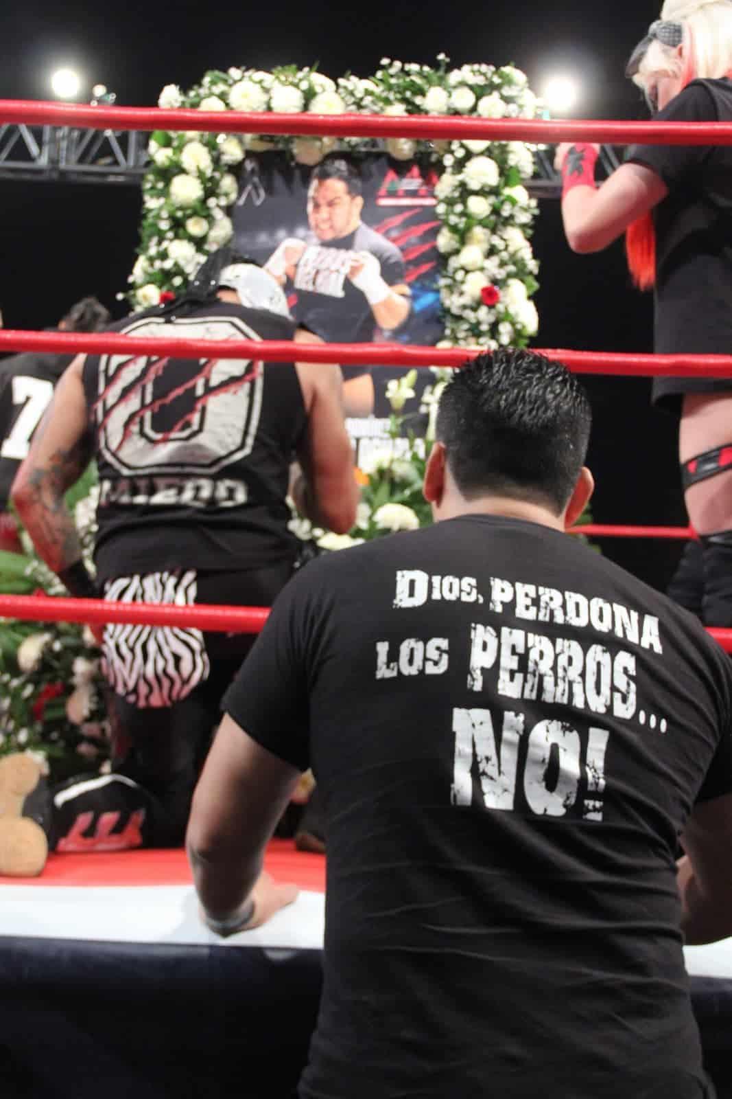 AAA: Gran respuesta del público en homenajes a Hijo del Perro Aguayo en San Luis Potosí y Xalapa 11