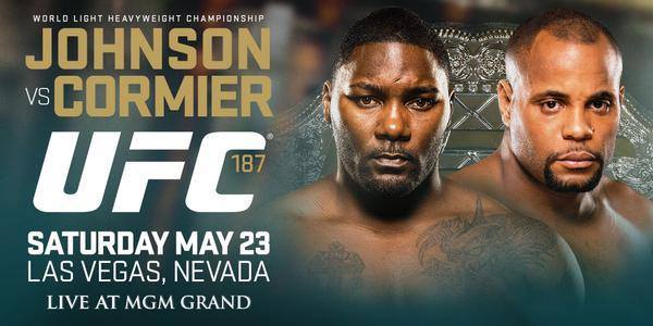 Johnson vs Cormier UFC 187