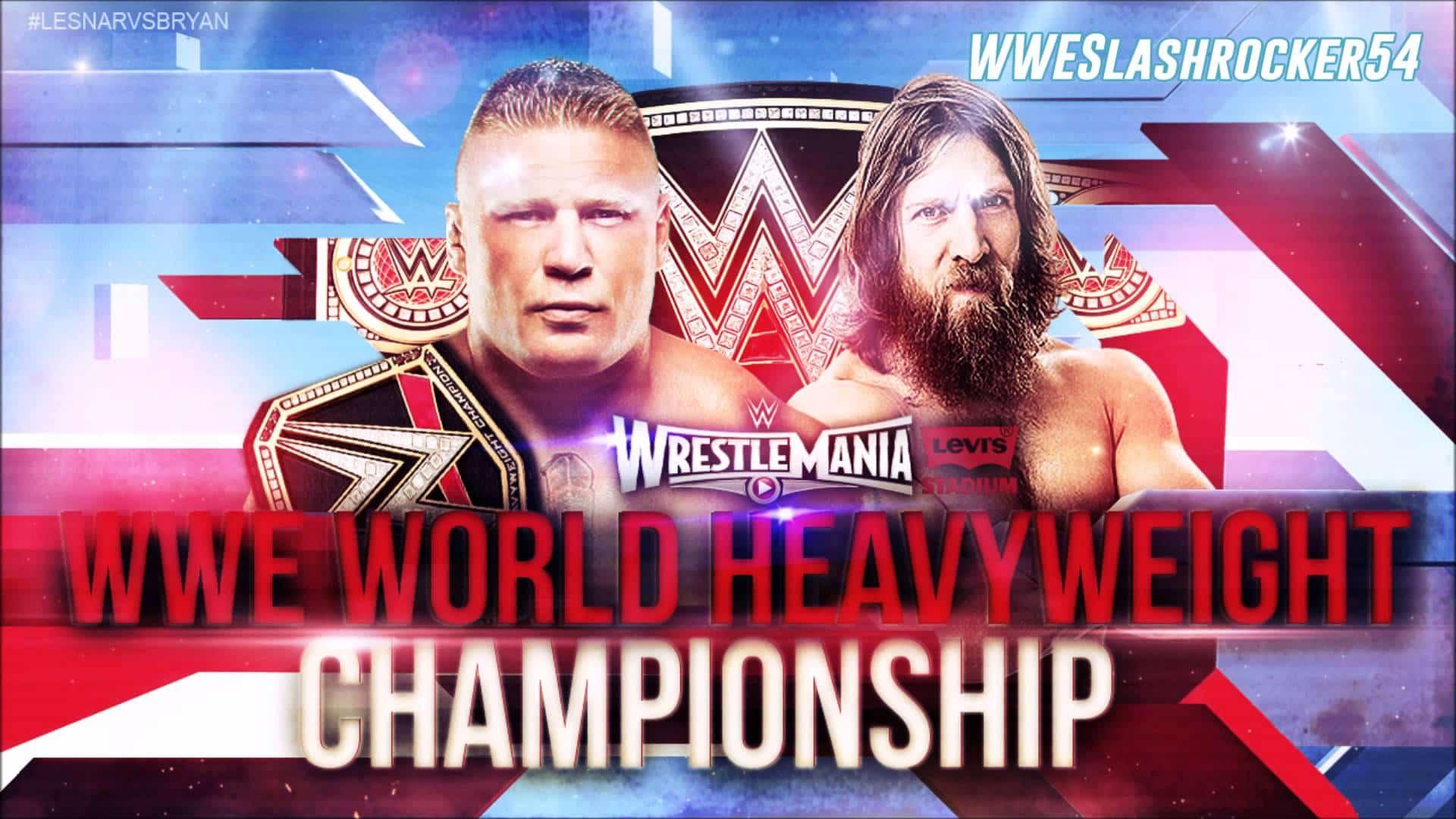 Brock Lesnar vs. Daniel Bryan