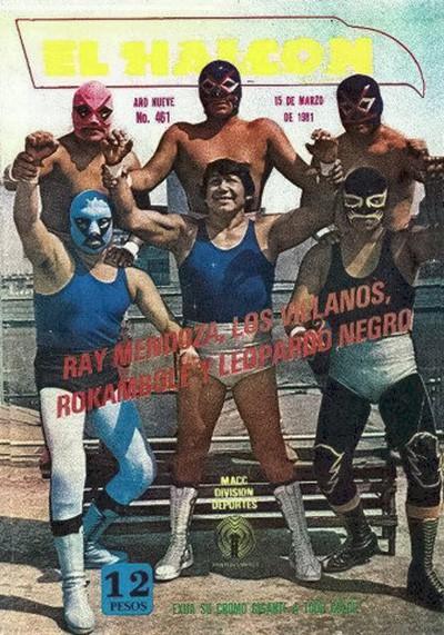 Ray Mendoza, Villanos I, II y III, Rokambole y Leopardo Negro