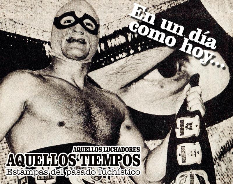 """En un día como hoy... 1986: Fallece """"El Enmascarado de Oro"""" El Solitario — 2001: Hijo del Perro Aguayo vs. Héctor Garza vs. Latin Lover vs. Heavy Metal 10"""