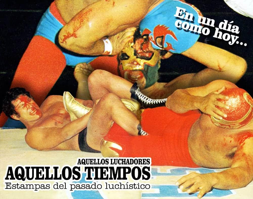 En un día como hoy... 1979: Antonio Inoki vs. Canek en El Toreo — Dos Caras destapa a Astro Rey 6