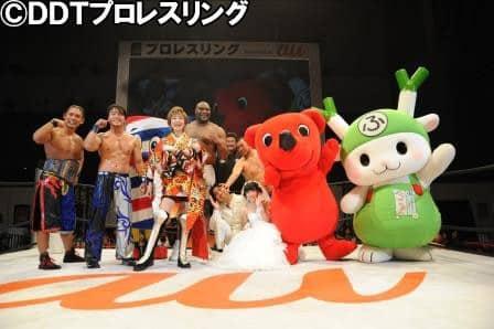 "DDT: Resultados ""Nico Nico Super Pro-Wrestling Day 1"" - 25/04/2015 8"