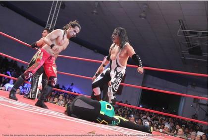 ¿El regreso de la Secta? / Foto cortesía de Lucha Libre AAA