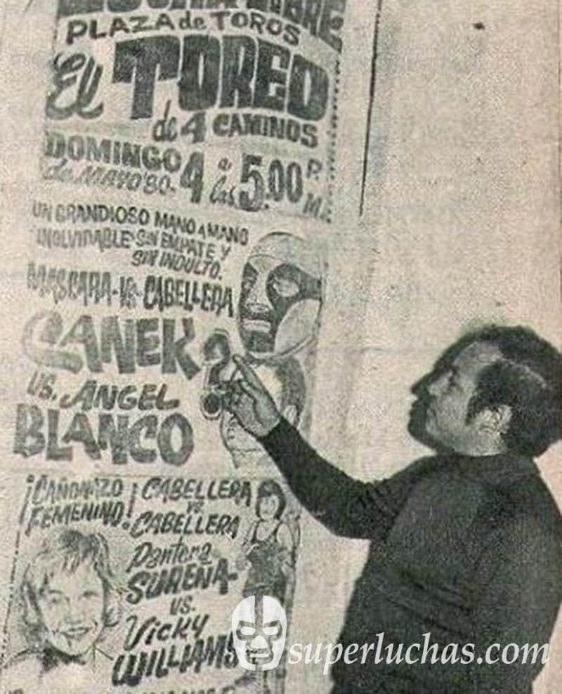 Ángel Blanco vs. Canek